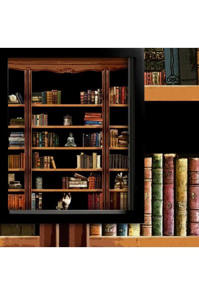 Cipcici Kitaplık Tek Kanat Blackout Tek Kanat Karartma Perde