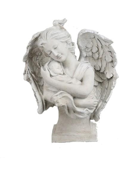 Melek Anne ve Çocuk Dekoratif Objesi
