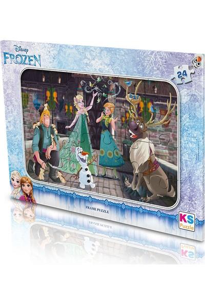 Ks Games Disney Frozen 24 Parça Puzzle