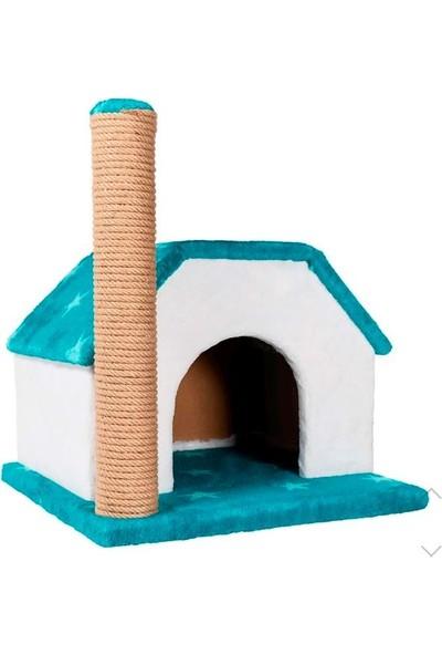 Keyf Tırmalamalı Kedi Evi