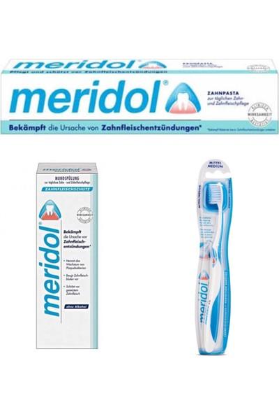 Meridol Ağız Bakım Seti 3'lü
