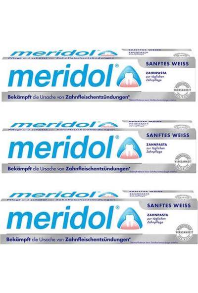 Meridol Gentle White (Beyazlatıcı Diş Macunu) 3'lü