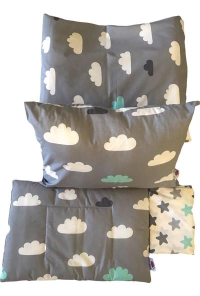 Daphne Kids Style Bulutlar ve Yıldızlar Bebek Nevresim Takımı