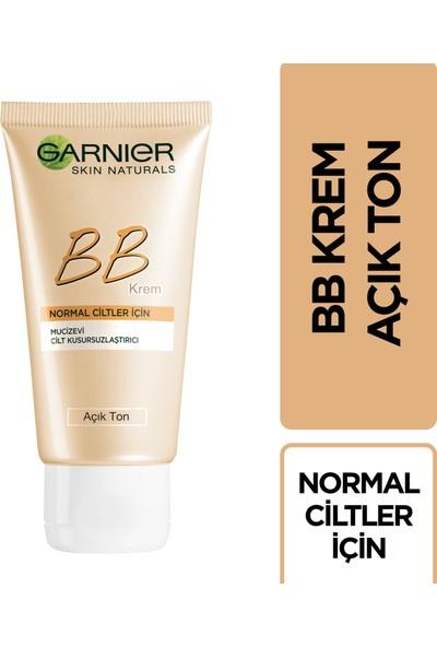 Garnier BB Krem Mucizevi Cilt Kusursuzlaştırıcı Açık Ton 50ML