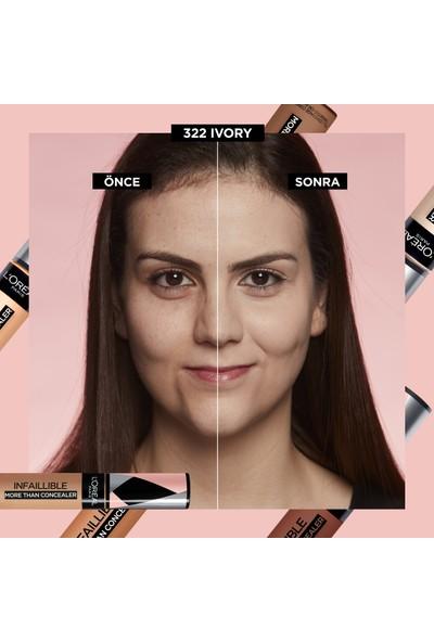 L'Oréal Paris Infaillible Tüm Yüze Uygulanabilir Kapatıcı 322 Ivory