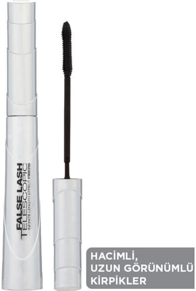 L'Oréal Paris False Lash Telescopic Fiber Maskara - Siyah