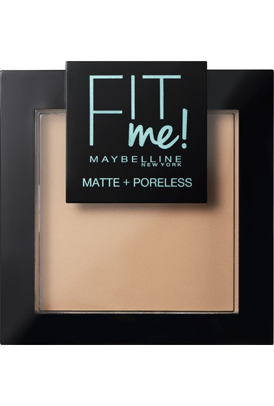 Maybelline New York Fit Me Matte+Poreless Pudra - 120 Classic Ivory