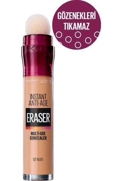 Maybelline New York Instant Anti Age Eraser Kapatıcı - 02 Nude