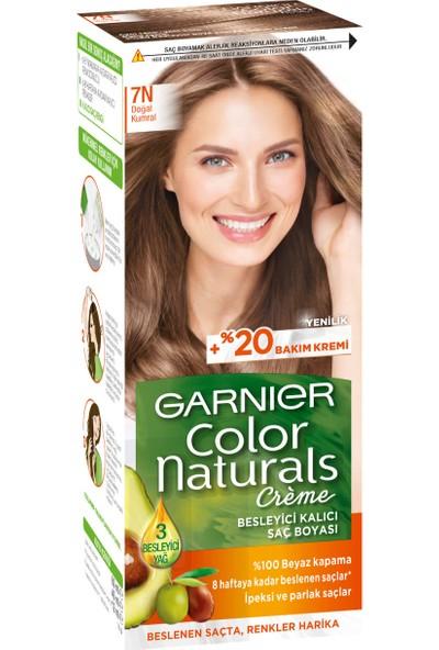 Garnier Color Naturals 7N Doğal Kumral