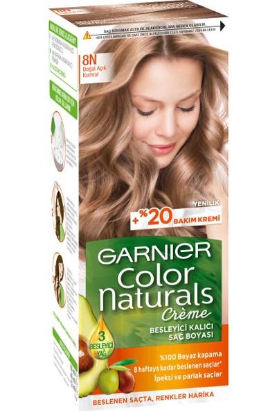 Garnier Color Naturals 8N Açık Kumral