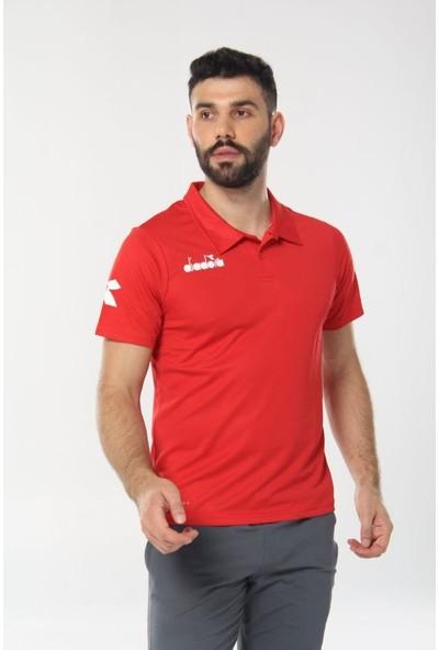 Diadora Nacce Kamp T-Shirt Kırmızı