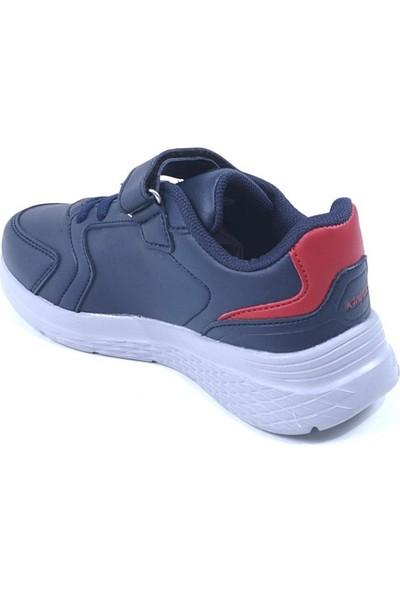 Kinetix Marned J Çocuk Laci-Gri-Kırmızı (31-35) Günlük Sneaker