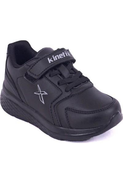 Kinetix Marned J Çocuk Siyah-Gri Günlük Sneaker