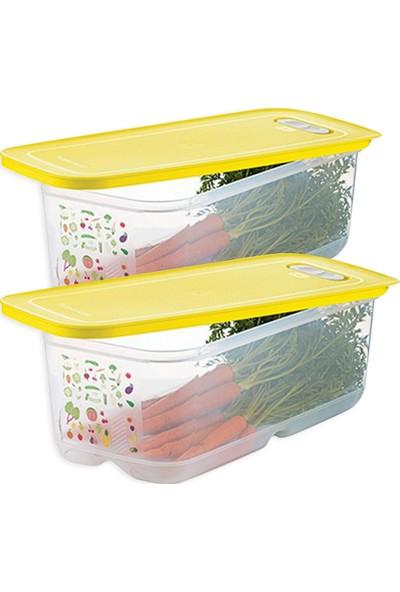 Tupperware Sera Buzdolabı Saklama Kabı ( 2 x 6.1 Lt )
