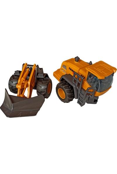 Meva Oyuncak Iş Makineleri Kar Küreme Aracı