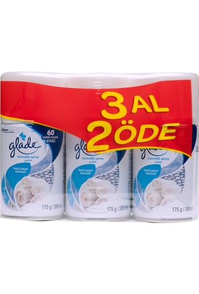 Glade Sprey Temiz Çarşaf Ferahlığı 3'lü 269 ml
