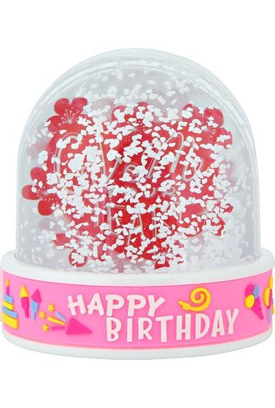 Birlik Fotoğrafçılık Happy Birthday Kar Küresi (Müzikli-Işıklı) 5013HPBM