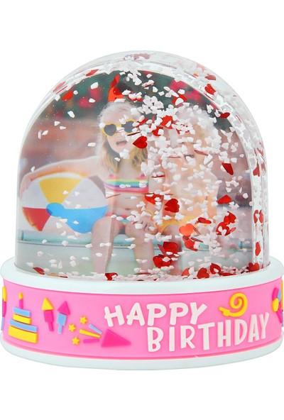 Birlik Fotoğrafçılık Happy Birthday Kar Küresi (Müzikli-Işıklı) 5013HPKM