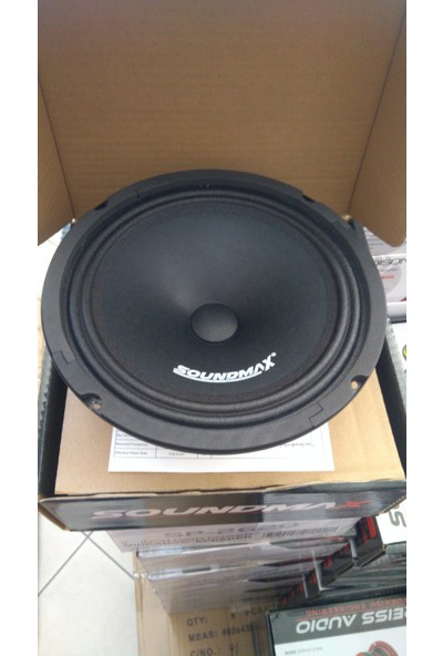Soundmax Sx-Ms8 20 cm Midrance
