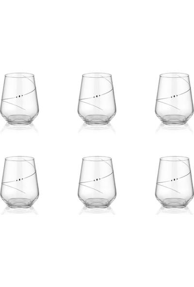 Decostyle Elegance 6 Adet Su Bardağı