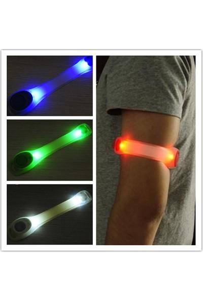Safety Gece Bisiklet Koşu Yürüyüş LED Kol ve Bacak Bandı