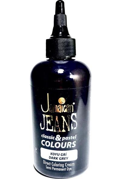 Jamaican Jean's Color Saç Boyası Koyu Gri BOYA1033