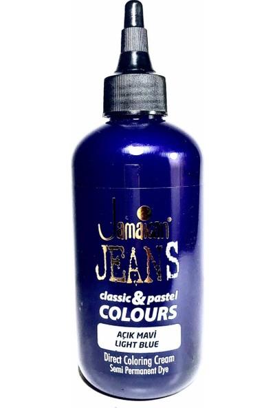 Jamaican Jean's Color Saç Boyası Açık Mavi BOYA1037