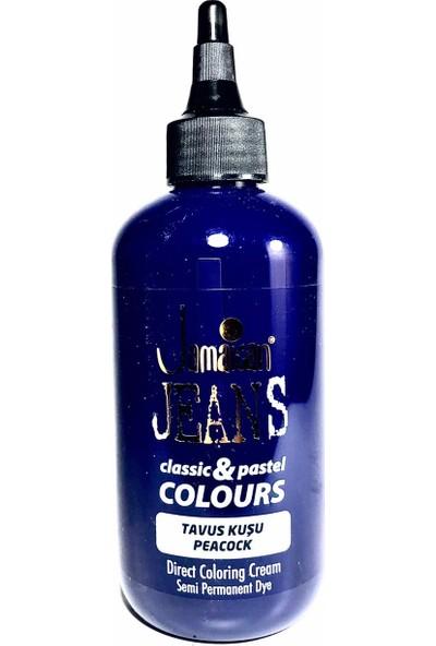 Jamaican Jean's Color Saç Boyası Tavus Kuşu Mavi BOYA1039