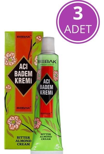 Bebak Acı Badem Kremi Tüp ,3X30 ml