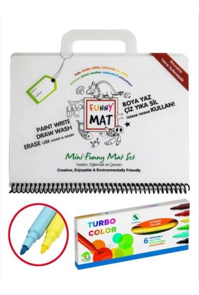 Akademi Çocuk Funny Mat Mini Set + Kalem AK1146