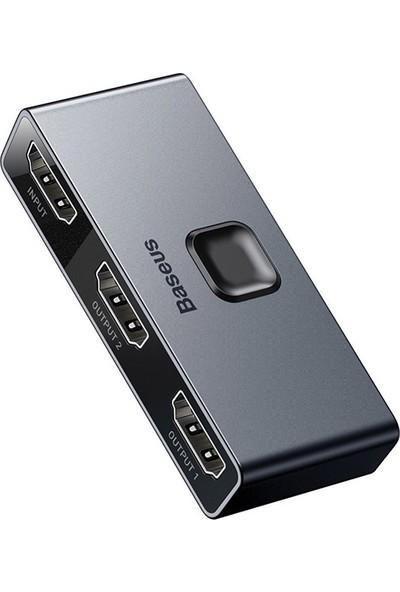 Baseus Matrix HDMI dağıtıcı 4K 60Hz çift yönlü HDMI Çoğaltıcı