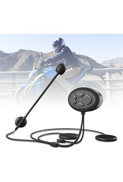 Ally DK11 Motosiklet Kask Kulaklık Bluetooth 5.0 Kulaklık IP54 AL-33084