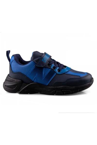 Carby 2013 Cilt - Laci/saks Erkek Çocuk Spor Ayakkabısı 31-35