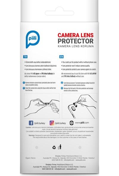 Piili Samsung A91 Kamera Koruyucu