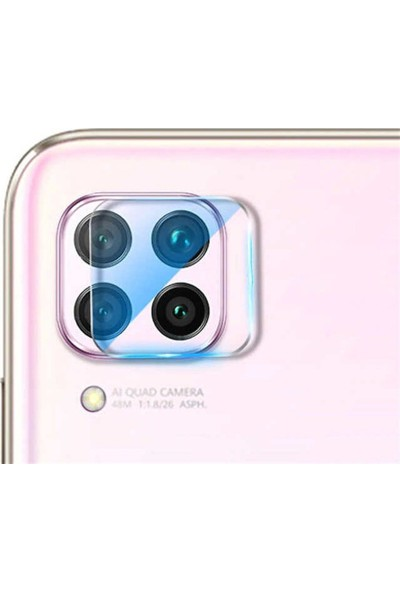 Piili Huawei P40 Lite Kamera Koruyucu