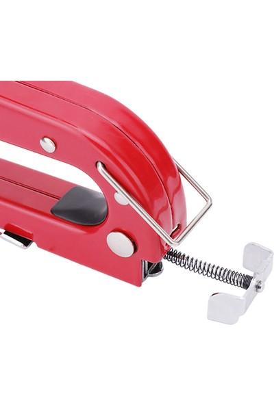 Bul-Max Krom Kırmızı Zımba Tabancası (200/4-6-8 Mm)