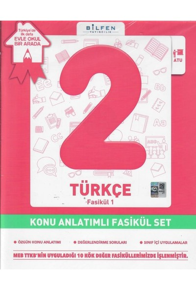 Bilfen 2. Sınıf Türkçe Fasikül Set