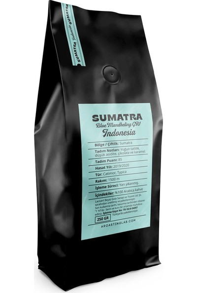 A Roasting Lab Indonesia Sumatra Blue Mandheling 250 gr