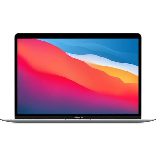 """Apple MacBook Air M1 Çip 8GB 512GB SSD macOS 13"""" QHD Taşınabilir Bilgisayar Gümüş MGNA3TU/A"""