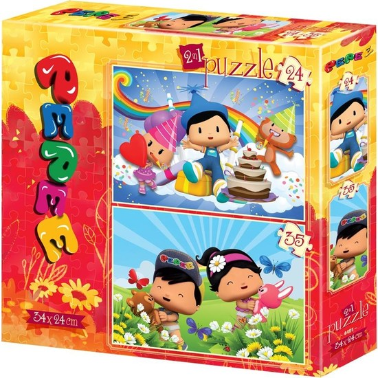 Yappuzz 24+35 Parça Yapboz Puzzle