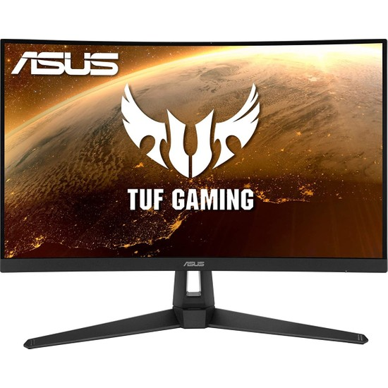 "Asus TUF Gaming VG27VH1B 27"" 165Hz 1ms (HDMI+Analog) FreeSync Curved Full HD LED Monitör"