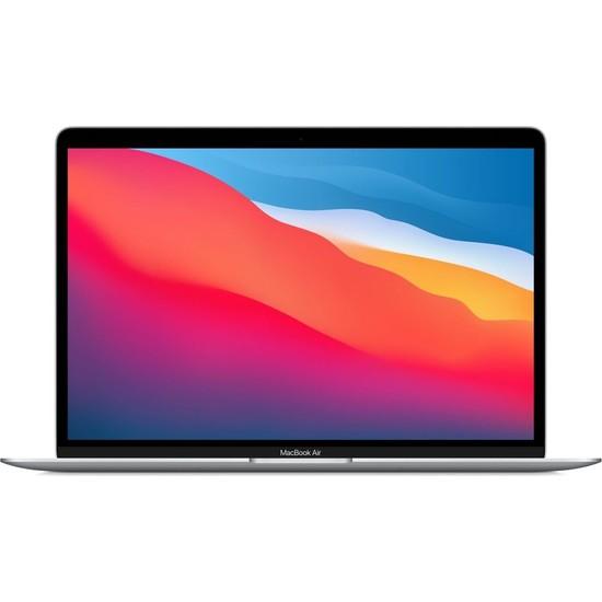 """Apple MacBook Air M1 Çip 8GB 256GB SSD macOS 13"""" QHD Taşınabilir Bilgisayar Gümüş MGN93TU/A"""