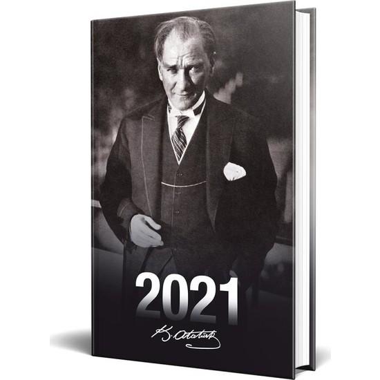 Halk Kitabevi 2021 Önder Atatürk Ajandası Tekli