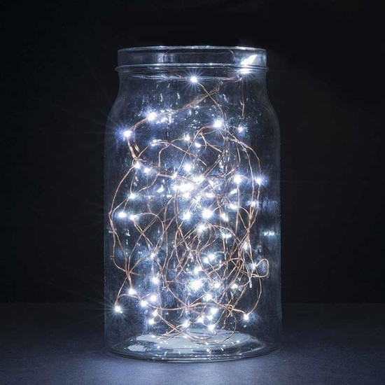 Kullanatparty Beyaz Renk Peri LED 3 mt Pilli