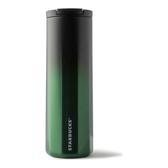 Starbucks® Klasik Seri Termos - Yeşil - Siyah Renkli 473 ml