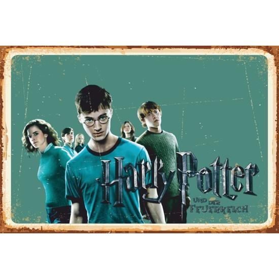 Atc Harry Potter Sahne Retro Vintage Ahşap Poster