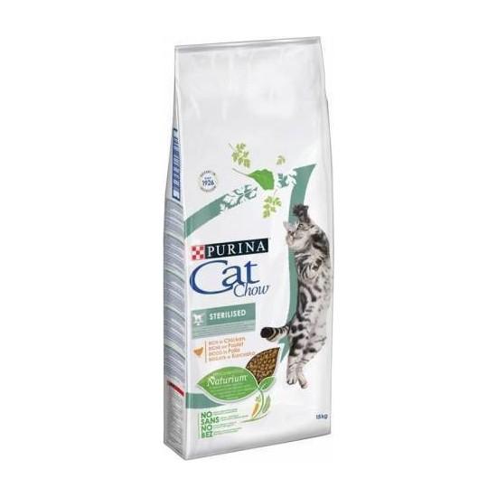Cat Chow Sterilized Tavuklu Yetişkin Kuru Kedi Maması 15 kg