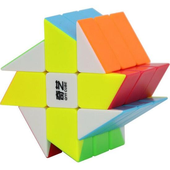 Qiyi Wildmill Fırıldak Rubik Küpü Zeka Küpü