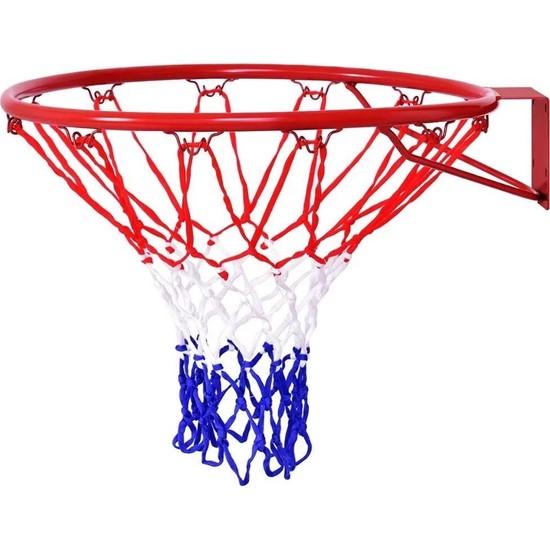 Leyaton Basketbol Pota Çemberi Fileli 18 mm + Top Hediye