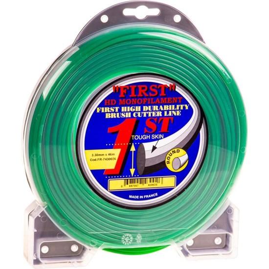 Speed France 7430026 First Tırpan Misinası 3.3 mm 46 mt Yeşil Yuvarlak